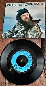 "JETHRO TULL NORTH SEA / ELEGY 1979 7"" SINGLE PROG ROCK IAN ANDERSON"