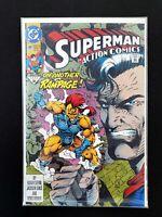 ACTION COMICS #681 DC COMICS 1992 NM+