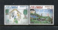 Colombia 1067-1068, MNH, Christmas 1992. x23417