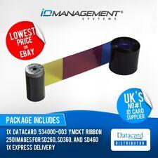Datacard YMCKT Colour Ribbon for SD260, SD360, SD460 Printers • 500 Prints
