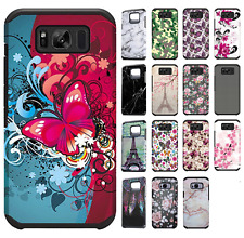 For Samsung Galaxy S8 / S8 PLUS HARD Astronoot Hybrid Rubber Case + Screen Guard
