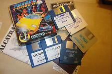 """4 x CINTA DE ATARI ST Paquete De Juegos 3.5"""" DISCO STRIDER II Alcatraz Chase HQ untouchabl"""