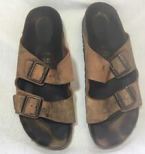 Birkenstocks size 42 leather tan 270 women 11 Men 9 Arizona