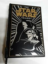 The Star Wars Trilogy Leather Bound Hardcover Lucas Books Pristine Condition
