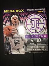 🔥🏀🏀💥🔥🏀🏀💥🔥🏀🏀💥🔥🏀🏀💥2019-20 Panini Illusions Basketball NBA Mega Box