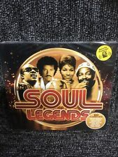 SOUL LEGENDS  TRIPLE CD -  60 CLASSIC HITS NEW AND SEALED 3 Cd Box Set.
