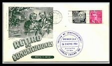 GP GOLDPATH: OTHER CARIBBEAN COUNTRY COVER 1954 FIRST DAY COVER _CV778_P03