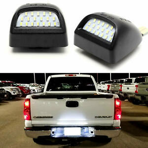 LED License Plate Light Assembly For Chevy Silverado GMC Sierra 1500 2500 3500