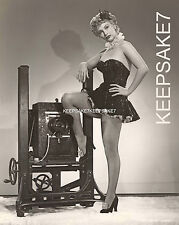 ACTRESS LINDA CHRISTIAN LEGGY IN FISHNETS AND A SHOWGIRL MINIDRESS PHOTO A-LCH1
