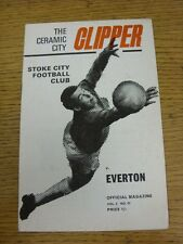 30/03/1970 Stoke City v Everton  (score/rs noted). Unless stated previously in t