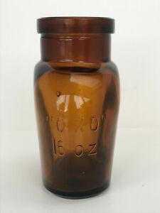 """Large Vintage 16oz Size """"OXO"""" Bottle"""