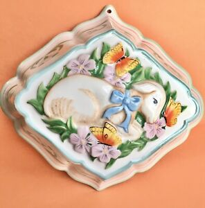 The Franklin Mint Le Cordon Bleu '86 Lamb Porcelain Decorative Jello-Mold Mount
