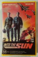 Into The Sun VHS 1992 Action/Comedy Fritz Kiersch Michael Paré FOX Large Soft