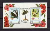 15910) Fiji 1990 MNH New S/S Stamp World London