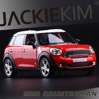 Red 1:36 Scale BMW MINI countryman Diecast Model Car 1/36 PullBack 2-Doors Open