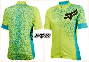 FOX switchback comp cycling jersey mountain bike ultralight full zip women L