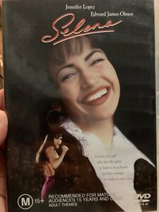 Selena region 4 DVD (1997 Jennifer Lopez music drama movie)