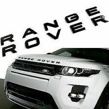 Logo RANGE ROVER Noir Brillant Stickers 3D 52cm X 4cm