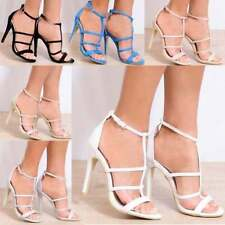 Unbranded Very High (4.5 in. and Up) Strappy Heels for Women