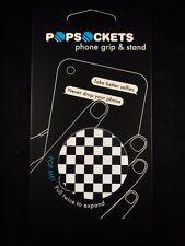 AUTHENTIC Popsockets Checkerboard Black Phone Grip Holder  PopSocket Pop Socket