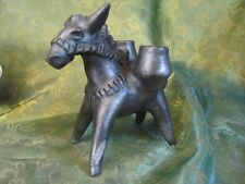 Vintage Burrow Donkey Mule - Barro Negro Sculpture - Rare