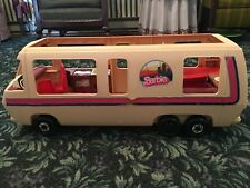 Vintage Barbie Gmc Van Camper with many Accessories