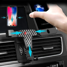 Gravity Car Air Outlet Vent Mount Phone Holder Stand For Audi Q5 8R 2008-2017
