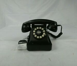 Wild & Wolf black nineteen thirties classic telephone authentic style 302 Phone