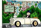 Alec Monopoly Canvas Print Mr Monopoly Beverly Hills Picture Extra Large Size