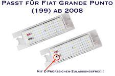 LED SMD Kennzeichenbeleuchtung Fiat Grande Punto (199) ab 2008  (XL)