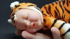 Anne Geddes Baby Sleeping Doll Tiger Beanbag Plush Toy