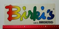 Aufkleber/Sticker A4: Birki's made by Birkenstock (02031687)