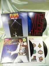 Elvis Presley Vinyls, Moody Blues, NBC-TV Special, Legendary Concert, Christmas