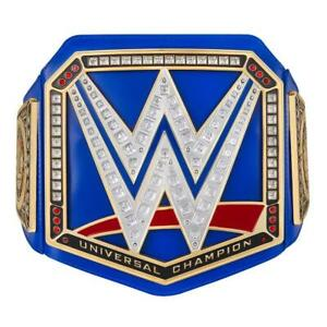 Official WWE Authentic Universal Championship Blue Toy Title Belt
