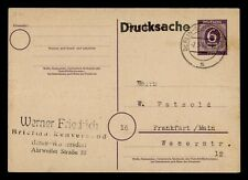 DR WHO 1965 GERMANY BERLIN POSTAL CARD STATIONERY C186142
