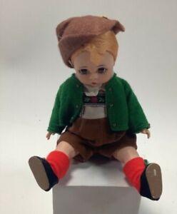 """Madame Alexander Tyrolean Boy Doll W/ Sleepy Eyes 8"""" Tall"""