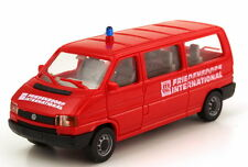 1:87 VW Volkswagen T4 Bus long MTW red Friedensdorf International AMW/AWM 9313