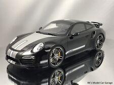 GT Spirit Techart Porsche 911 (991)Turbo S Black and Grey Resin Model 1:18
