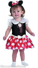 LICENSED MICKEY MOUSE CLUBHOUSE MINNIE MOUSE GIRLS HALLOWEEN COSTUME TODDLER 3-4