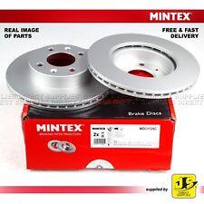 2X MINTEX FRONT DISC BRAKES MDC1725C DODGE HYUNDAI i10 1.0 1.1 1.2 KIA PICANTO