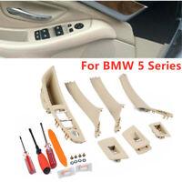 7 Set Inner Door Handle Window Lift Switch Panel For BMW F10 F18+ Repair Tool
