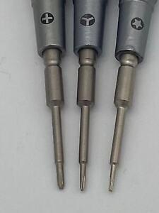2UUL Everyday Screwdriver Set - Pentalobe 0,8 -- Philips 1,2 --Tri-point 0,6