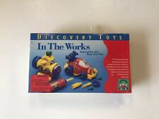 In The Works Discovery Toys Submarine & Race Car Set NEW Preschool Learning 1998
