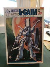 BOXED DIECAST HI METAL L GAIM SUPER REAL MODEL  JAPAN BANDAI ROBOT SCALE 1/100