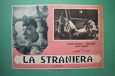 P3 FOTOBUSTA CARTONATA LA STRANIERA VIVIANE ROMANCE LODGE PABST 3