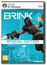 BRINK SPECIAL EDITION PC BRAND NEW & SEALED