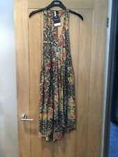 Topshop Boutique Vintage Floral Lace Design Silk Dress Size UK 10 New With Tags