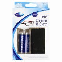 Optique Lunettes Spray Lentille Nettoyant Microfibre Tissu Lingette Caméra
