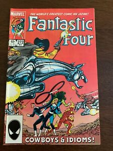 Fantastic Four #272 (Nov 1984, Marvel) Nathaniel Richards cameo FN+/VF-