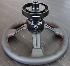 NRG SHORT HUB QUICK RELEASE STEERING WHEEL RS-2.0BK FOR Nissan 350Z 370Z